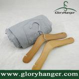 De houten Hanger van Kinderen, de Hanger van de Vertoning van de Doek van de Baby