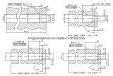 Schmelzdruckgeber/Übermittler-geöffnetes Loch und Montage-Anweisung