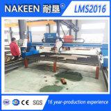 Cortador de la llama del plasma del CNC Lms2016 para el metal