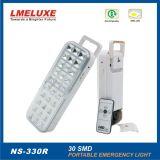 Illuminazione portatile ricaricabile di emergenza LED con il telecomando