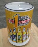 refrigerador personalizado 100L da bebida do tambor do gelo para o uso da promoção