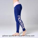 Desgaste dos esportes do Swimwear das calças do Spandex de Lycra da Rápido-Secagem a magro e a apto