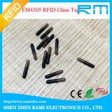 jeringuilla animal de la etiqueta del transportador de 134.2kHz RFID con el embalaje de la esterilización