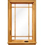 Ventana de aluminio, ventana del marco, ventana de aluminio del marco con perfil termal roto