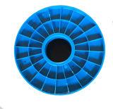Tambour en plastique vide de fil pour l'emballage et la distribution