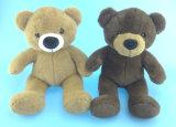 Brinquedo macio do urso do animal de estimação do luxuoso com Squeaker para dentro
