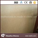 床タイルのためのCrema磨かれたMarfilのベージュ大理石の平板