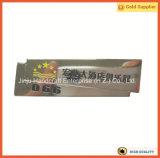 Divisa impresa polvo del Pin de seguridad de la plata de la divisa conocida del encargado de servicio de la cabina (JINJU16-042)