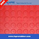 Couvre-tapis en caoutchouc de configuration de pièce de monnaie/goujon rond/couvre-tapis en caoutchouc clouté circulaire