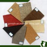 Manta de área antideslizante respetuosa del medio ambiente de la alfombra del hotel de la alfombra del sisal