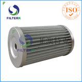 Filtre air-gaz de polyester plissé parItalie de rechange de Filterk