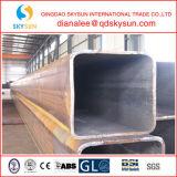 Tubulação de aço sem emenda do carbono quadrado estrutural acabado a quente