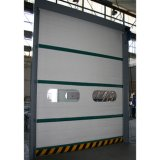 Porte à grande vitesse de tissu de PVC de rouleau de porte rapide industrielle d'obturateur (HF-J311)