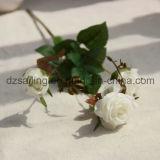 装飾(SF15586A)のためのローズの多彩な人工的な結婚の花