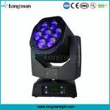 indicatore luminoso capo mobile del punto della mini dell'ape di 7*15W 4in1 RGBW dell'occhio LED lavata della fase