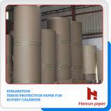Schutz-Papier der Sublimation-30GSM, Seidenpapier auf DrehCalander/Rollen-Wärme-Presse-Maschine
