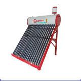 Chaufferette d'eau chaude solaire pressurisée de tube électronique compacte de caloduc