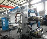 3개의 색깔 Flexographic 인쇄 서류상 필름 기계