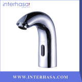 Plataforma-Mounted Induction Cold e Hot Sensor Hands Free Commerical Kitchen Bathroom Toilet Faucet