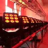 Indicatore luminoso capo mobile del nuovo di 9X12W 4in1 fascio della discoteca LED