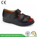 Здоровье фиоритуры обувает сандалии женщин бежевые диабетические (9812421-1)