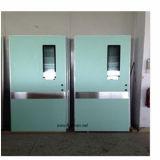 Алюминиевая автоматическая застекленная герметичная дверь для комнат ICU