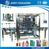 Máquina de enchimento de engarrafamento de lubrificação automática cheia do frasco de petróleo do motor do lubrificante