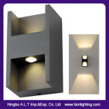 Efecto luminoso decorativo del hotel de la luz del montaje exterior de la pared