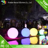 防水無線再充電可能で多彩で装飾的なLEDの平らな球