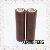18650 célula de batería de la batería Hg2 18650 3000mAh 20A de Ltihium para el LG
