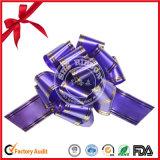 Blauer POM-POM Zug-Bogen für Geschenk-Dekoration