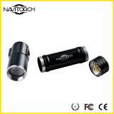 Justierbarer Fokus Mini-CREE LED Taschenlampen-Fackel, Batterien eingeschlossen, Zoomable LED Taschenlampe (NK-1861)