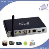 Alta qualidade esperta da caixa da tevê do Wi-Fi do melhor Android, Amlogic S812 com IPTV personalizado