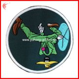 Rundes Embroidery Iron auf Patch (YH-EB081)