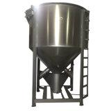 Mezclador cónico de la calefacción para el color plástico que se mezcla y proceso de la modificación de la calidad