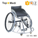 Topmedi Berufsbasketball-vorderer untauglicher Sport-Rollstuhl