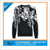 Man를 위한 주문 Sublimation Crew Neck Sweatshirt