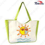 Girls Ladiesのための方法Cute Canvas Hand Bag Tote Beach Bags