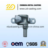 L'acier inoxydable de forge de la Chine a modifié la pièce pour le produit de pièce forgéee