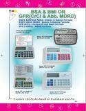 Calculatrice médicale d'INDICE DE MASSE CORPORELLE (DSC 2109-BMI)