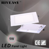 Ce&RoHS LEDの照明灯が付いている9W正方形のNano LEDの軽いパネル