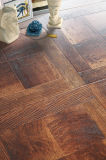 12.3mm Woodgrain Texture Walnut Laminbate Wooden Wood Laminate Flooring