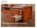 木製TVのキャビネットの居間の家具の木のキャビネット