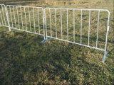 Qualidade amável nova barreiras galvanizadas do controle de multidão