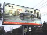 PVC Cold Laminated Banner Backlit Billboard (500dx500d 9X9)