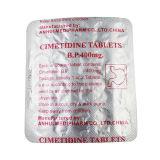 Le cimétidine marque sur tablette la médecine de GMP