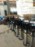 Edelstahl-vertikale Mehrstufenfliehkraftwasser-Pumpe
