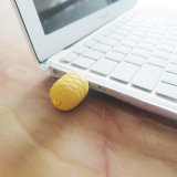 PVC Forma personalizada de silicona de moda linda forma de piña divertido Forma del reloj de silicona USB