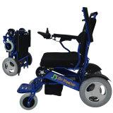 Cadeira de rodas elétrica de dobramento do pedal de pouco peso para crianças