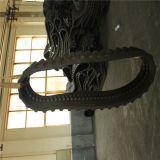 Trilha de borracha direta 320*54*76 da fábrica de China para a lagarta 302.5c